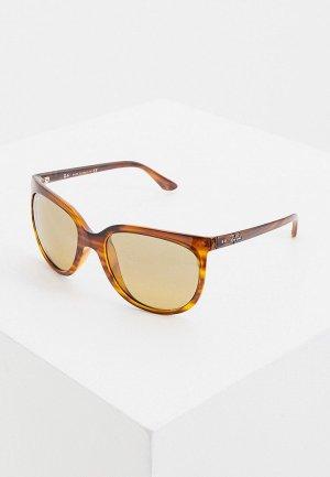 Очки солнцезащитные Ray-Ban® RB4126 820/3K. Цвет: коричневый