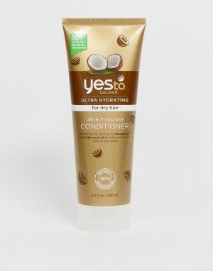 Ультраувлажняющий кондиционер для сухих волос Yes To Coconut-Бесцветный