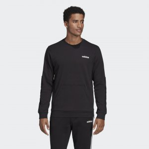 Свитшот M MO CREW Performance adidas. Цвет: черный