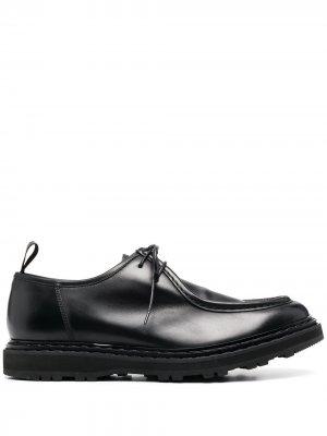 Ботинки дезерты Officine Creative. Цвет: черный