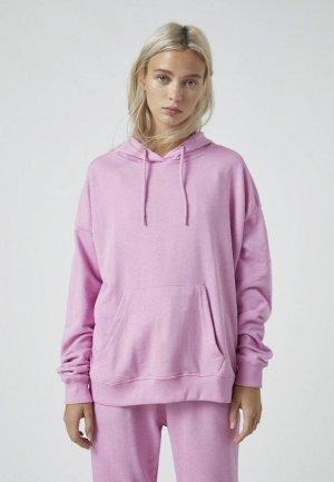 Худи Pull&Bear. Цвет: розовый