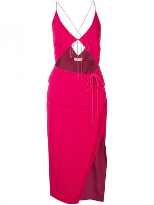 Платье Ludovica Altuzarra. Цвет: красный
