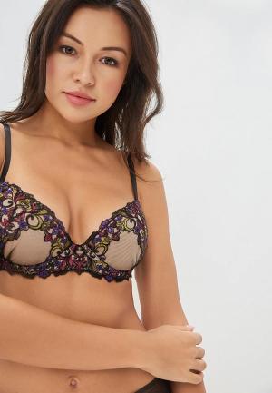 Бюстгальтер LA DEA lingerie & homewear Asmine. Цвет: бежевый
