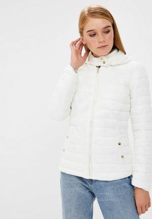 Куртка утепленная Colins Colin's. Цвет: белый