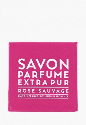 Мыло Compagnie de Provence парфюмированное, Дикая роза/Wild Rose, 100 г. Цвет: розовый