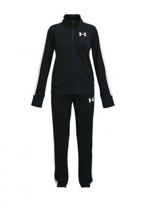 Спортивный костюм Em KnitTrack Under Armour. Цвет: черный