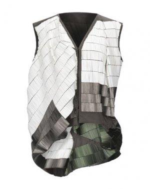 Пиджак RICK OWENS. Цвет: темно-зеленый
