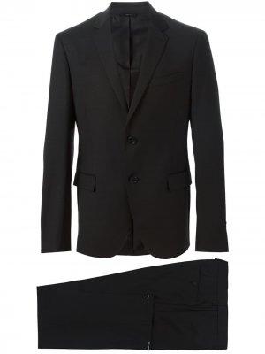 Классический вечерний костюм Fendi. Цвет: черный