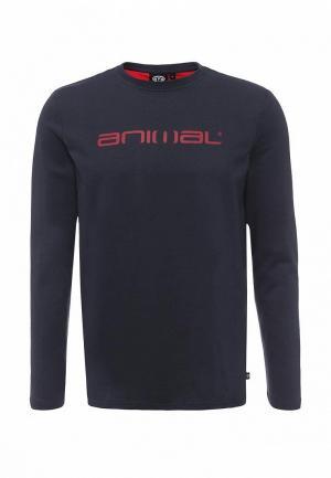 Лонгслив Animal UTAKO. Цвет: синий