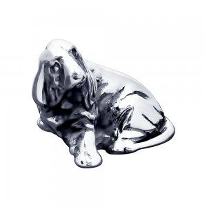 Сувенир из чернёного серебра «Собачка» SOKOLOV