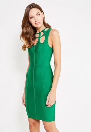 Платье Paccio PA060EWXNX93. Цвет: зеленый
