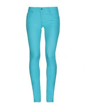 Повседневные брюки CHEAP MONDAY. Цвет: бирюзовый