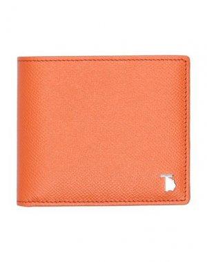 Бумажник TOD'S. Цвет: оранжевый