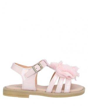 Сандалии CLARYS. Цвет: розовый