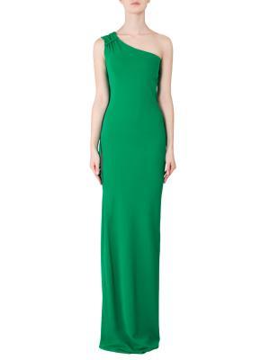 Платье Yigal Azrouel. Цвет: зеленый