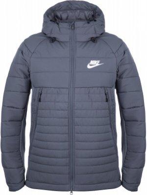 Куртка утепленная мужская Sportswear Advance 15, размер 44-46 Nike. Цвет: серый