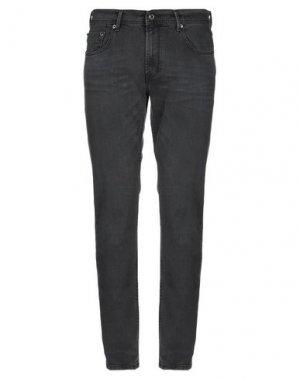 Джинсовые брюки BALDESSARINI. Цвет: стальной серый