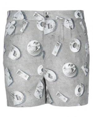 Повседневные шорты DIOR HOMME. Цвет: серый