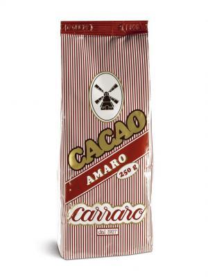 Растворимое какао Carraro Cacao Amaro 250г. Цвет: коричневый