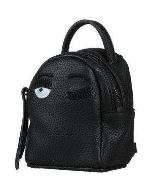 Рюкзак CHIARA FERRAGNI. Цвет: черный
