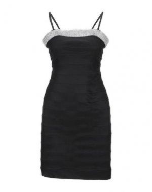 Короткое платье JOLIE CARLO PIGNATELLI. Цвет: черный