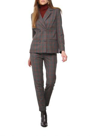 Костюм: пиджак, брюки AVEMOD. Цвет: темно-серый