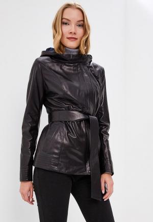 Куртка кожаная Grafinia MP002XW1F7TF. Цвет: черный
