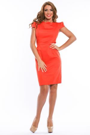 Платье Ines Collezione. Цвет: оранжевый