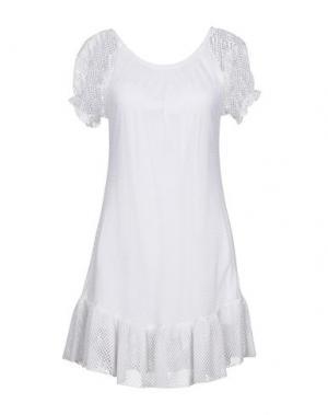 Короткое платье PIN UP STARS. Цвет: белый