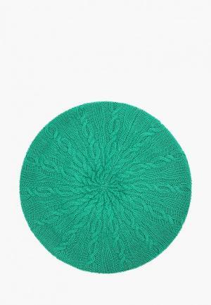 Берет United Colors of Benetton. Цвет: зеленый