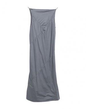 Платье до колена GARETH PUGH. Цвет: свинцово-серый