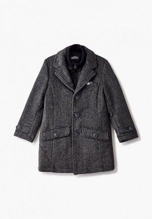 Пальто Sarabanda. Цвет: серый