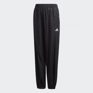 Брюки Woven Performance adidas. Цвет: черный
