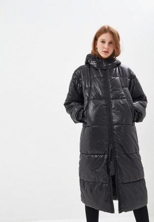 Куртка утепленная Cheap Monday CH839EWCBTK3. Цвет: черный