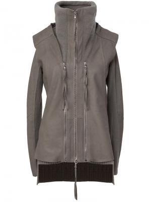 Куртки Ilaria Nistri. Цвет: серый