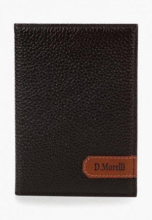 Обложка для документов D.Morelli. Цвет: коричневый