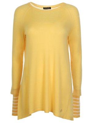 2439/пуловер+шарф LORO PIANA. Цвет: желтый