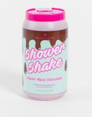 Гель для душа с ароматом мятно-шоколадного молочного коктейля – Tasty Shower Milkshake Mint Chocolate-Бесцветный I Heart Revolution