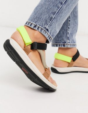 Разноцветные сандалии -Мульти Camper
