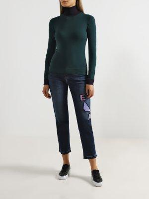Укороченные джинсы J15 Emporio Armani. Цвет: siniy