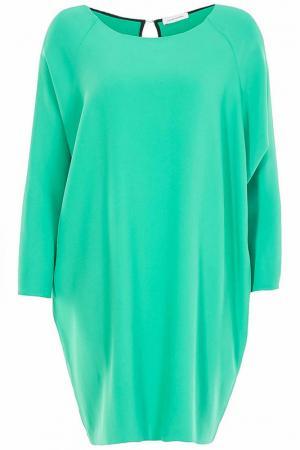 Платье Costume National. Цвет: зеленый