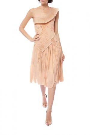 Платье Donna Karan. Цвет: розовый