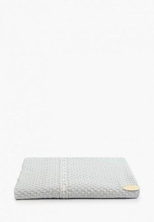 Плед Choupette 100х100 см. Цвет: голубой