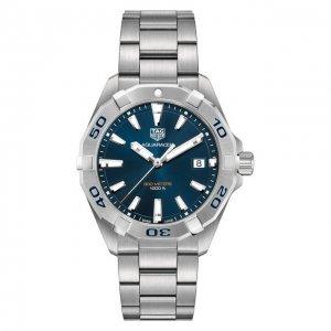 Часы Aquaracer TAG Heuer. Цвет: синий