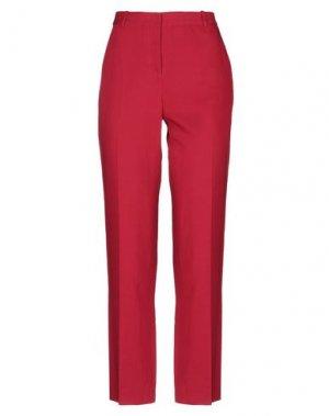 Повседневные брюки ANGEL SCHLESSER. Цвет: красный