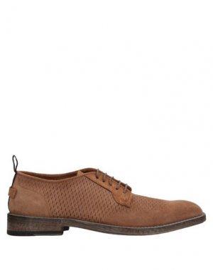 Обувь на шнурках BARRACUDA. Цвет: коричневый