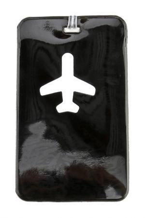 Бирка для багажа ROUTEMARK. Цвет: черный