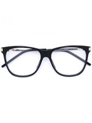Очки в квадратной оправе Marc Jacobs. Цвет: чёрный