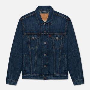 Мужская джинсовая куртка Levis Trucker Levi's. Цвет: синий