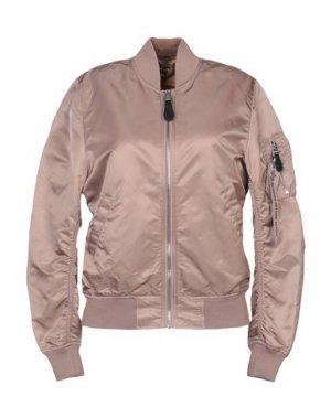 Куртка ALPHA INDUSTRIES. Цвет: телесный